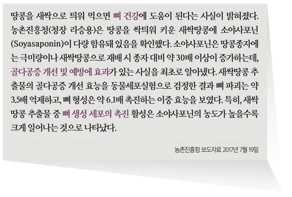 땅콩 - 농촌진흥청 보도자료 2017년 7월 19일